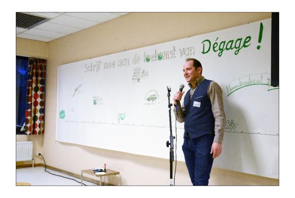 Dégage werd 20 jaar: foto's