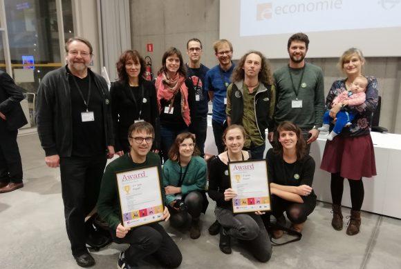 Dégage werd laureaat in de awards Duurzame Deelplatformen
