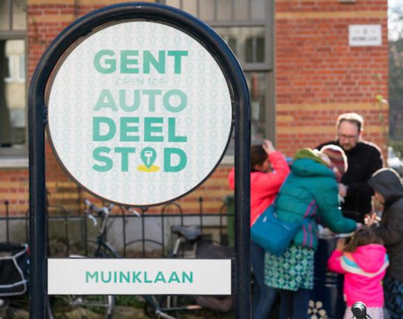 Dégage evalueert autodeelplan: je auto delen moet standaard worden voor een autoluw Gent