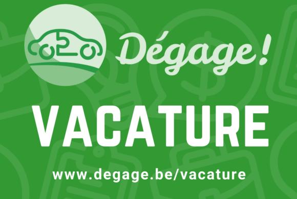 vacature: projectverantwoordelijke bij Dégage